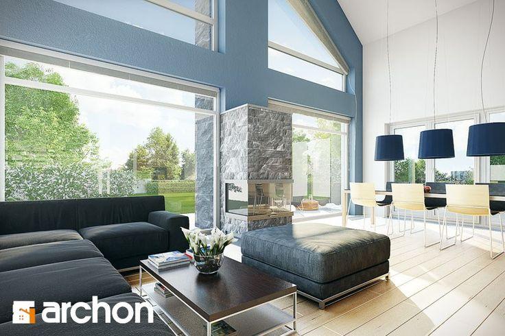 Dom w laurach - projekt ARCHON+ - zdjęcie od ARCHON+ Biuro Projektów - Domy - Styl Nowoczesny - ARCHON+ Biuro Projektów