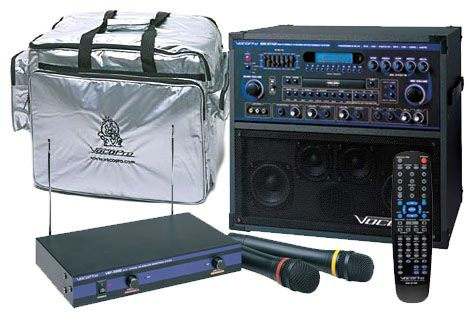 VocoPro GIGSTAR-PRO-II Professional Karaoke System Package -  The GIG-STAR PRO II is a 100W professional karaoke jam-along system. This package is all you need to get the party started!