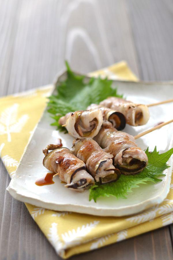なすの梅肉豚串焼き by 西山京子/ちょりママ   レシピサイト「Nadia ...