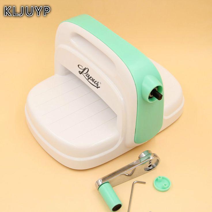 KLJUYP Die Cutting Embossing Machine Scrapbooking Cutter Piece Die Cut Green Paper Cutter Die-Cut Machine