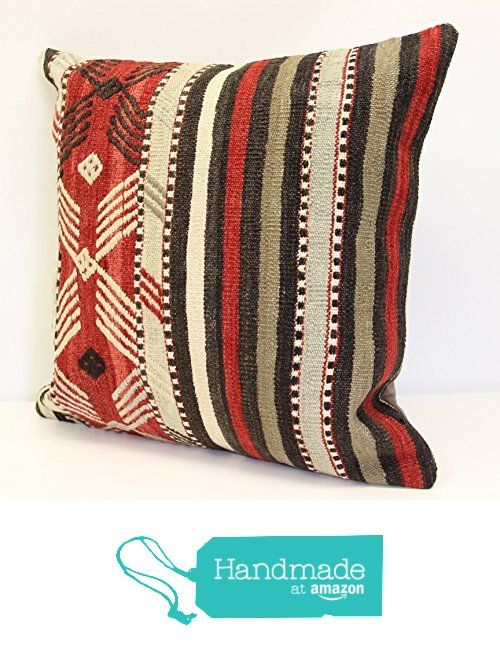 Throw Pillow cover 20x20 inch (50x50 cm) Living Room Kilim pillow cover Home Decor Boho decor Pillow cover Home decor Kilim cushion cover from Kilimwarehouse https://www.amazon.com/dp/B0742CHYJ4/ref=hnd_sw_r_pi_dp_ZC9BzbQGE31VM #handmadeatamazon
