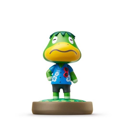 Animal Crossing™ Series<br><br>Introducing amiibo™: character figures designed to connect and interact with compatible games. By tapping the amiibo over your Wii U GamePad, you'll open up new experiences within each corresponding game.<br><br>Your amiibo will store data as you play, making it your very own, one-of-a-kind amiibo.<br><br>Recommended for children ages 6+<br><br>For more details on amiibo, please visit nintendo...
