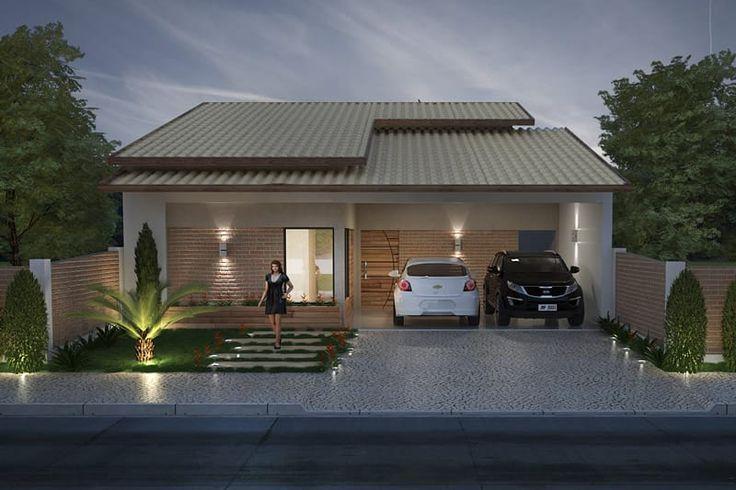 Casa para terreno de 10 por 20 metros