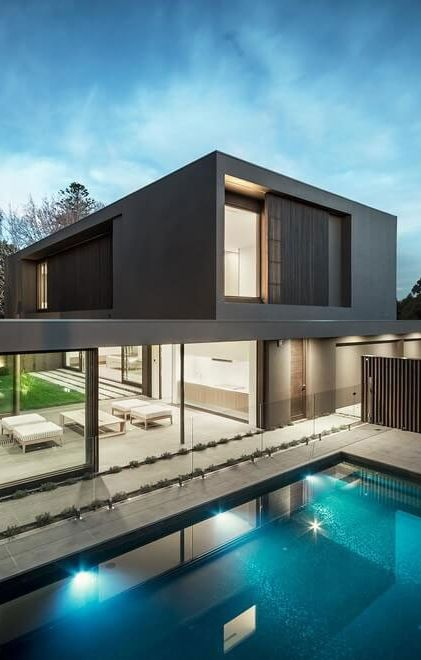 Architecture Beast: House colors: Amazing modern facade in brown | #modern  #architecture