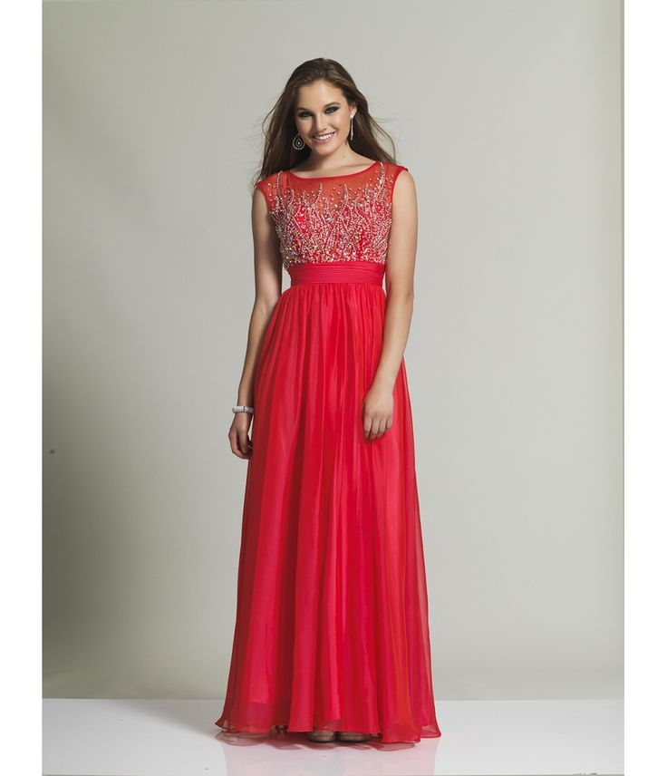 Red dress long 00