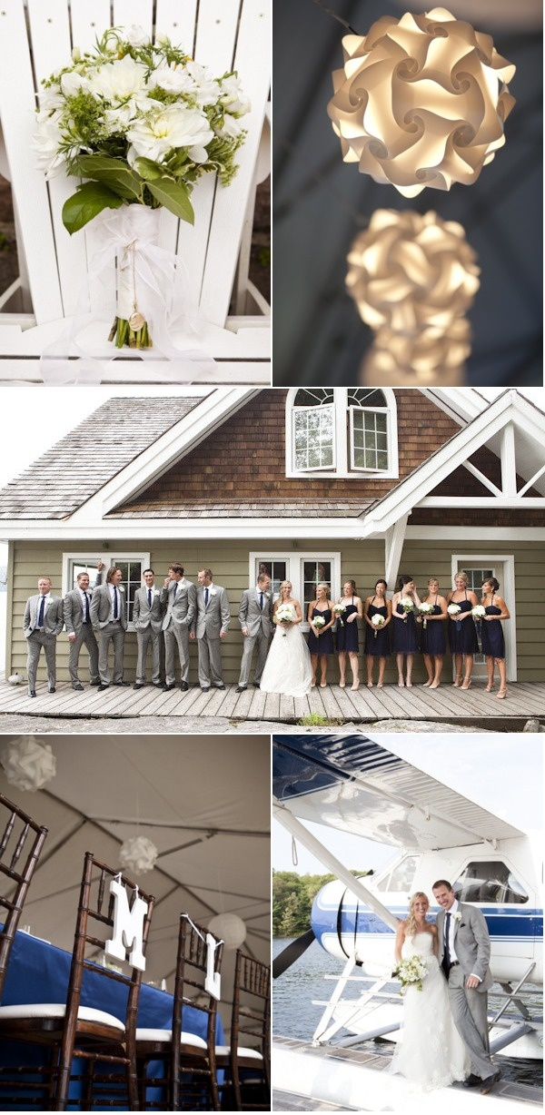 navy and grey Wedding Stuff to Remember