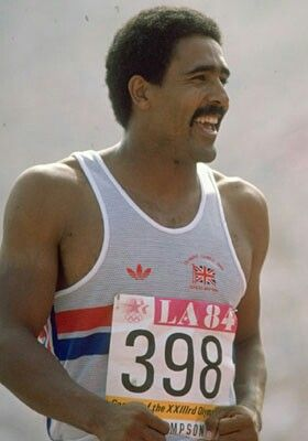 One of your sporting heros? Daley Thompson.