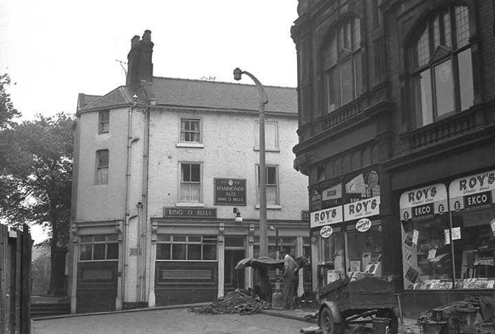 Ring o bells pub.used to be next to church yard.