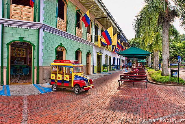 Parque del Cafe, Quindio, Colombia, via Flickr.