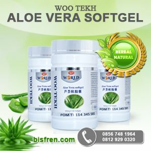Softgel aloe vera lidah buaya isi 100 softgel