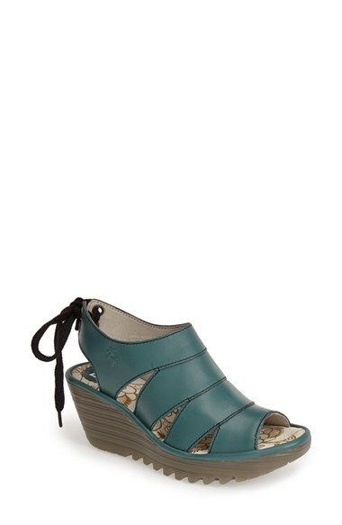 Fly London 'Yown' Platform Wedge Sandal (Women) available at #Nordstrom