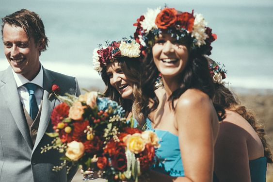 A Colourful Bohemian Wedding by I Got You Babe Photography