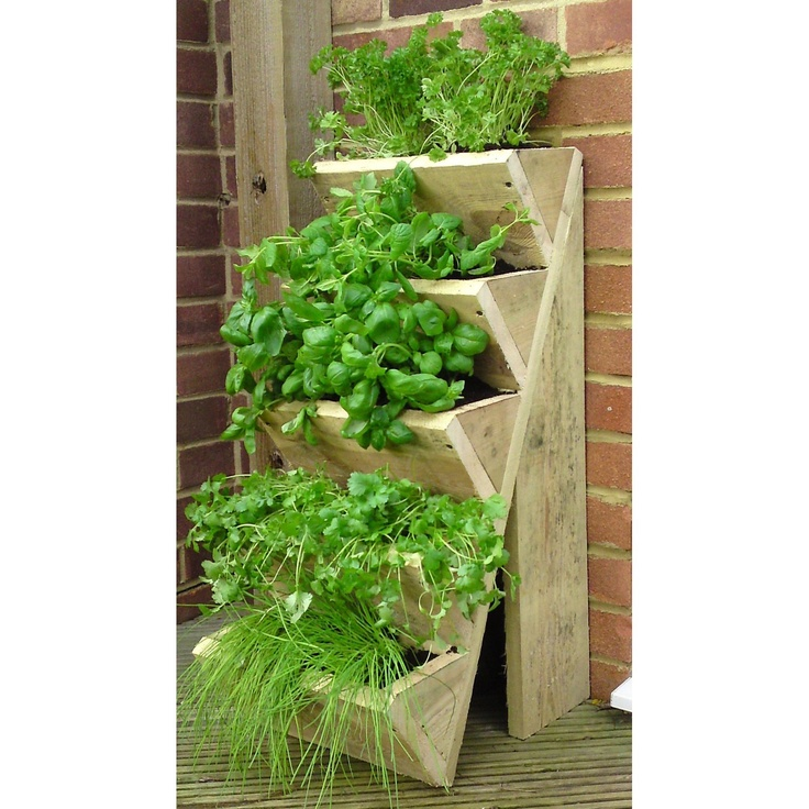 Five Tiered Herb Planter. Hmmm, Project For Hubby I Think!