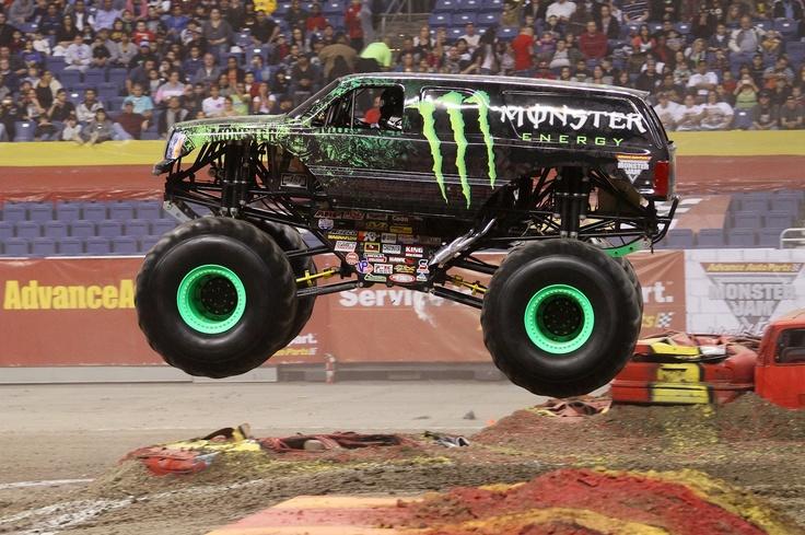 Monster Energy Monster Truck Cars Energy Drinks Pinterest