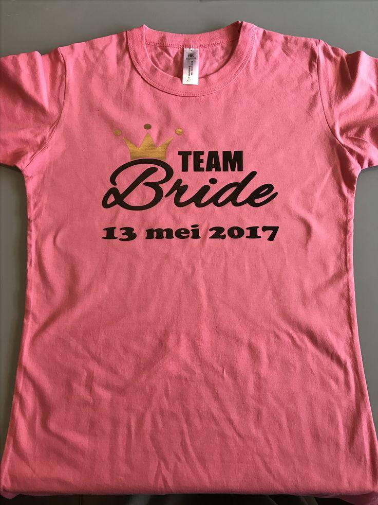 Team bride shirt #camcuriooske