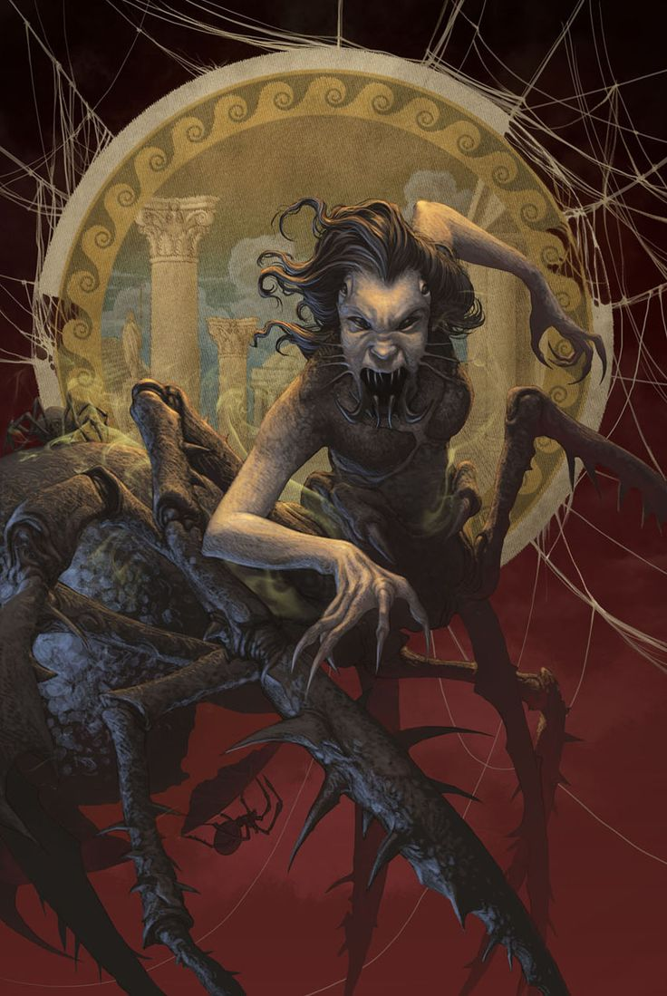 Arachne - Camp Half-Blood Wiki - Percy Jackson, The Heroes of Olympus, Percy Jackson and the Olympians, Sea of Monsters movie, books, series...
