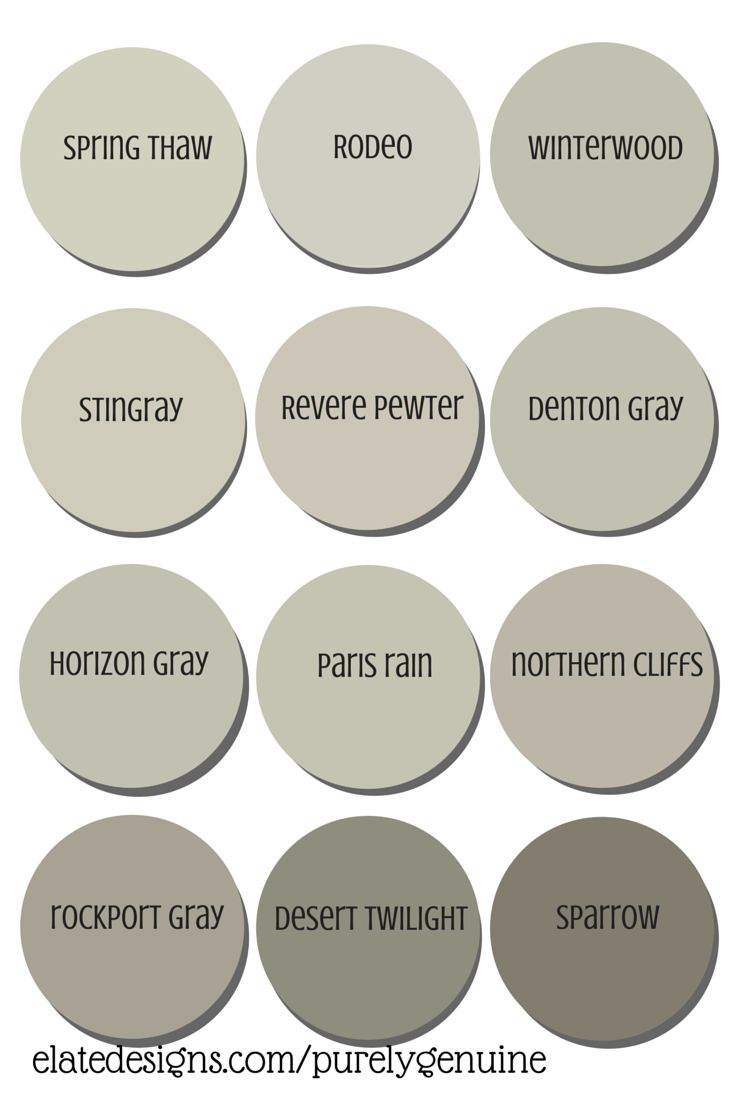 Best neutral paint colors benjamin moore enchanting best for Neutral shades of paint