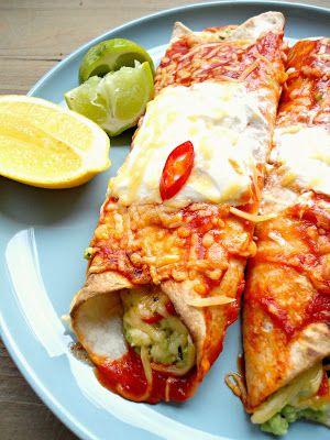 Mexicaanse wraps (vegetarisch)