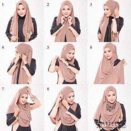 Tutoriels Hijab Modernes6
