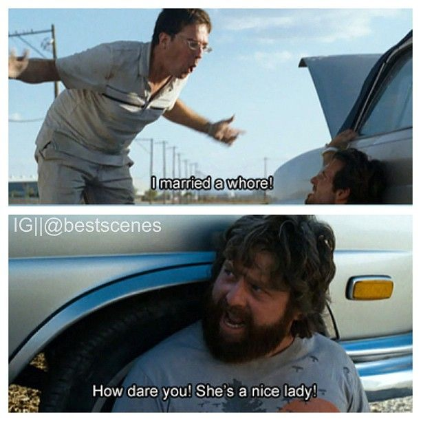 The Hangover is the best movie ever. (:
