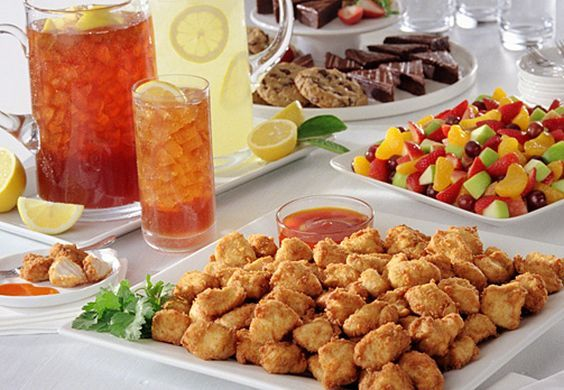 Chick-fil-A Murphy would love to cater your next event. Our full catering menu can be found on our website listed below! Eat Mor Chikin!  http://cfarestaurant.com/murphy/home