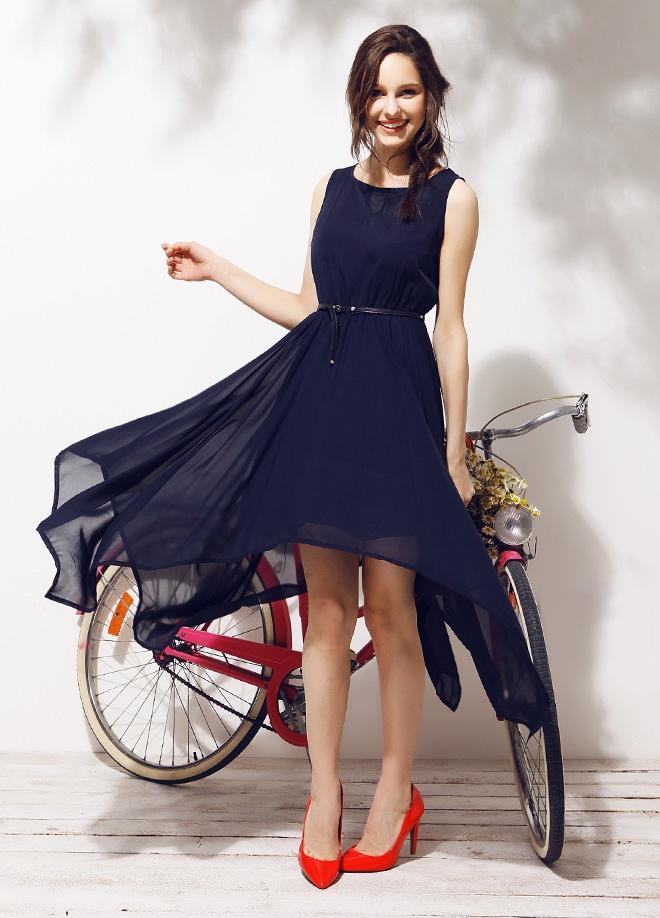 Mixray Şifon kolsuz elbise Markafonide 120,00 TL yerine 39,99 TL! Satın almak için: http://www.markafoni.com/product/3779468/