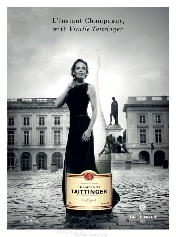 Taittinger Champagne #wine #advertisement #champagne
