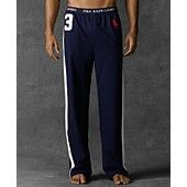 Polo Ralph Lauren Men's Loungewear, Number Three Jersey Pant