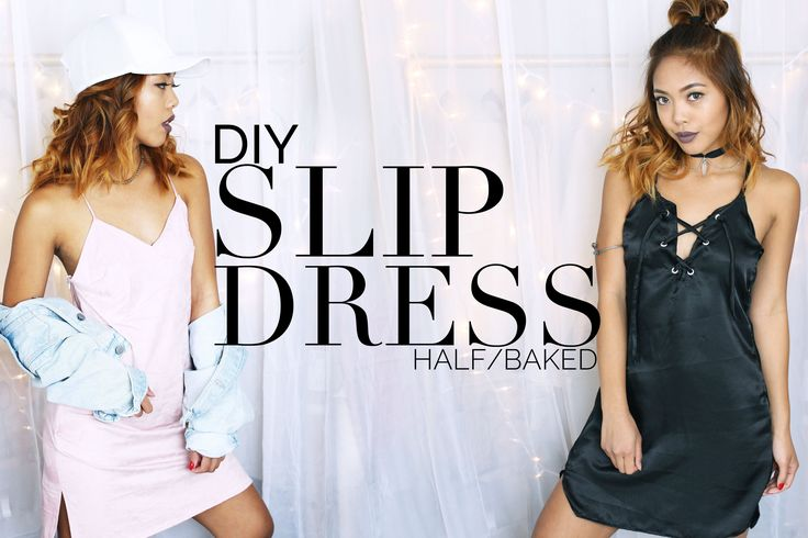 OPEN ME FOR MORE DETAILS! Feel the 90s vibe with these two Slip Dress Tutorials! This video is in collaboration with the lovely Natasha from @natashar0se! Ch...