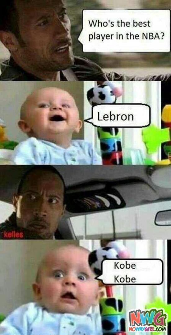 LMAO! Top Internet Memes | Funny Memes: Who's The Best Player In The NBA? - NoWayGirl