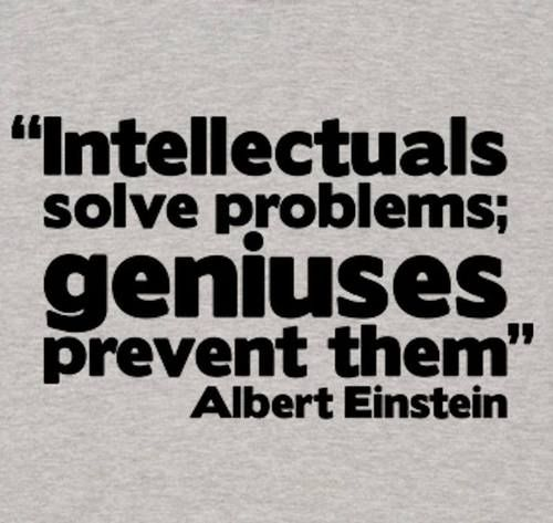 I'am a GENIUSES given to be by God:) Your just a problem solver......
