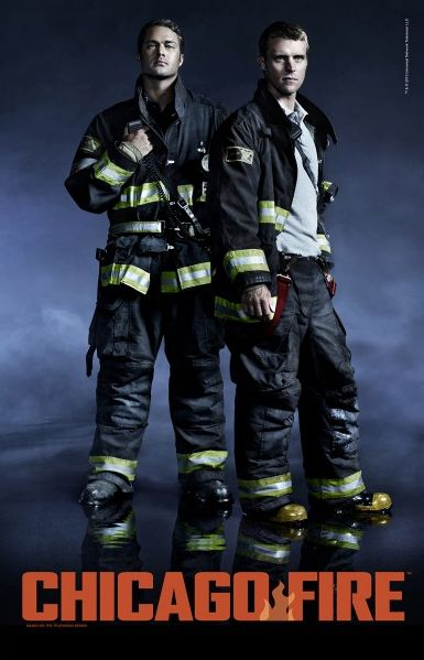 """Chicago Fire: Severide and Casey 11"""" x 17"""" Poster 
