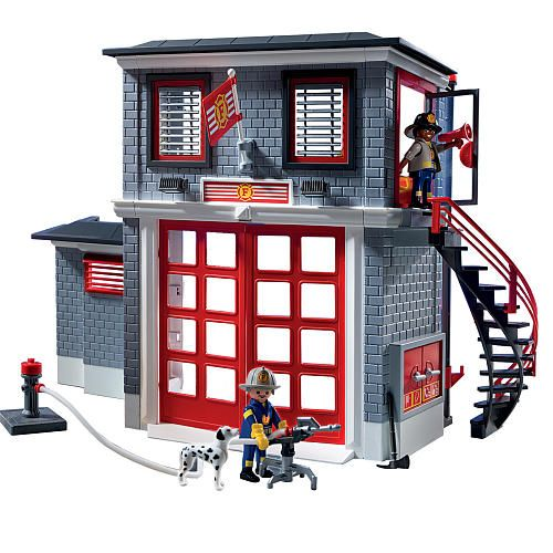 """Playmobil Fire Rescue Station -  Playmobil - Toys""""R""""Us"""