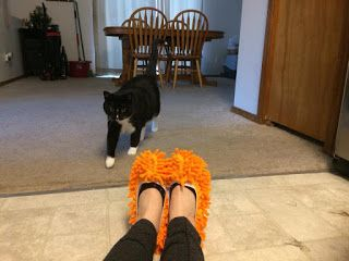 Double Team Promotion Social Media: Fluffy Feet Cleaning