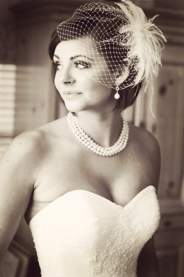 Wedding Veils vs Fascinators for 2015 ... ~ Hot Chocolates Blog #wedding…