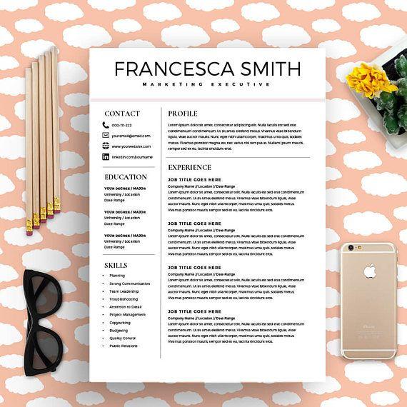 The 25+ best Professional cv template free ideas on Pinterest Cv - resume templates word mac
