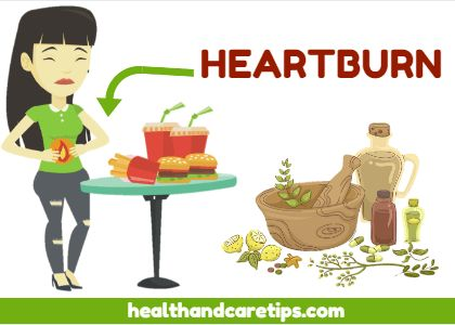 how to get relief from heartburn at home