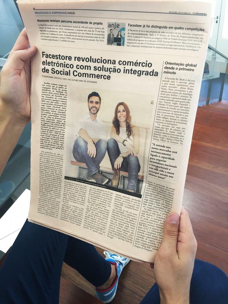 Facestore em destaque no jornal Vida Económica!