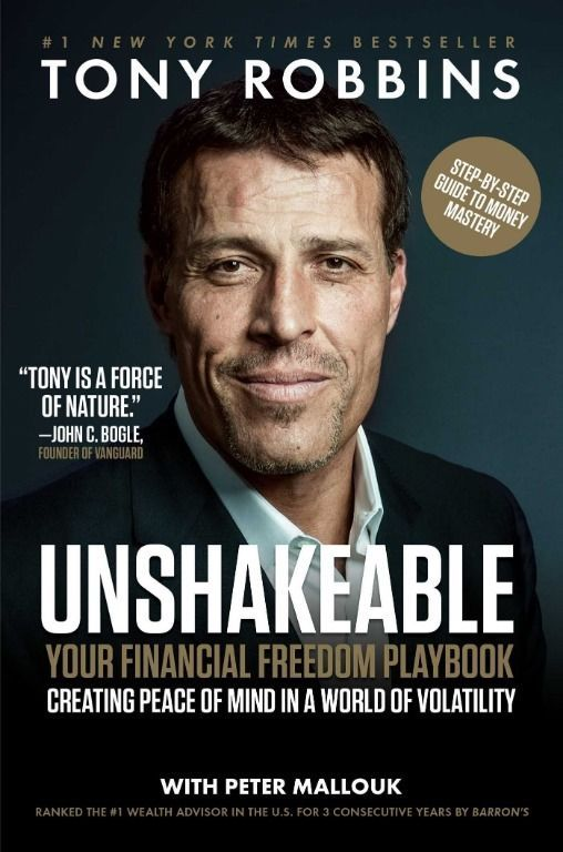Unshakeable: Your Financial Freedom Playbook Hardcover by Tony Robbins 1501164589 | eBay