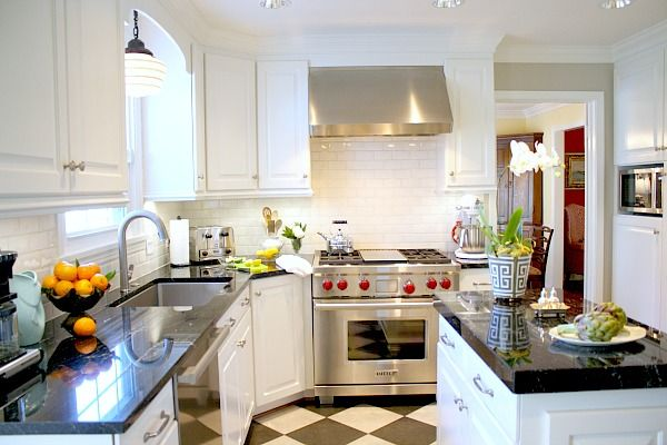 Kitchen Remodel - Wolf – Duel Fuel 36″ Range with griddle