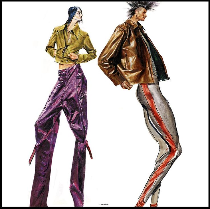 Massimo Navarra fashion painting