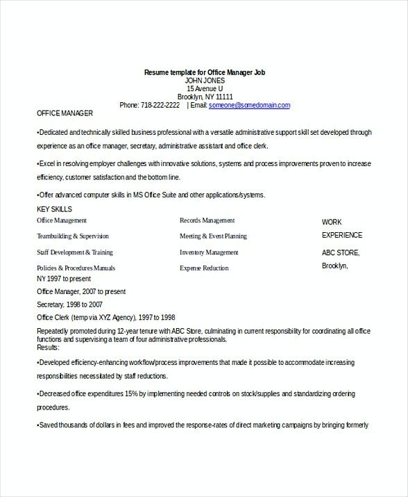Office Manager Job Resume , Bank Branch Manager Resume , This Bank Branch Manager resume is beneficial for those who want to apply for the position. Check this article to get the information about the job resume.