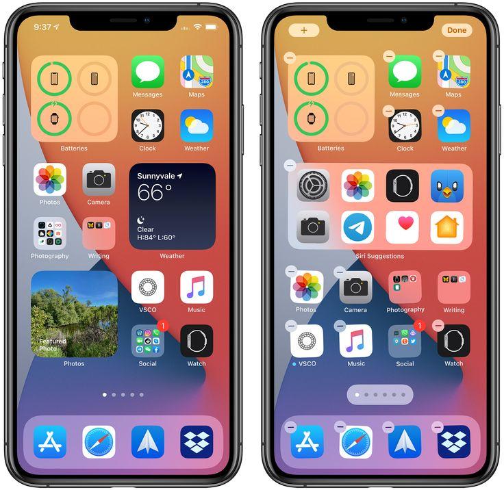 How to use widgets in ios 14 macrumors iphone