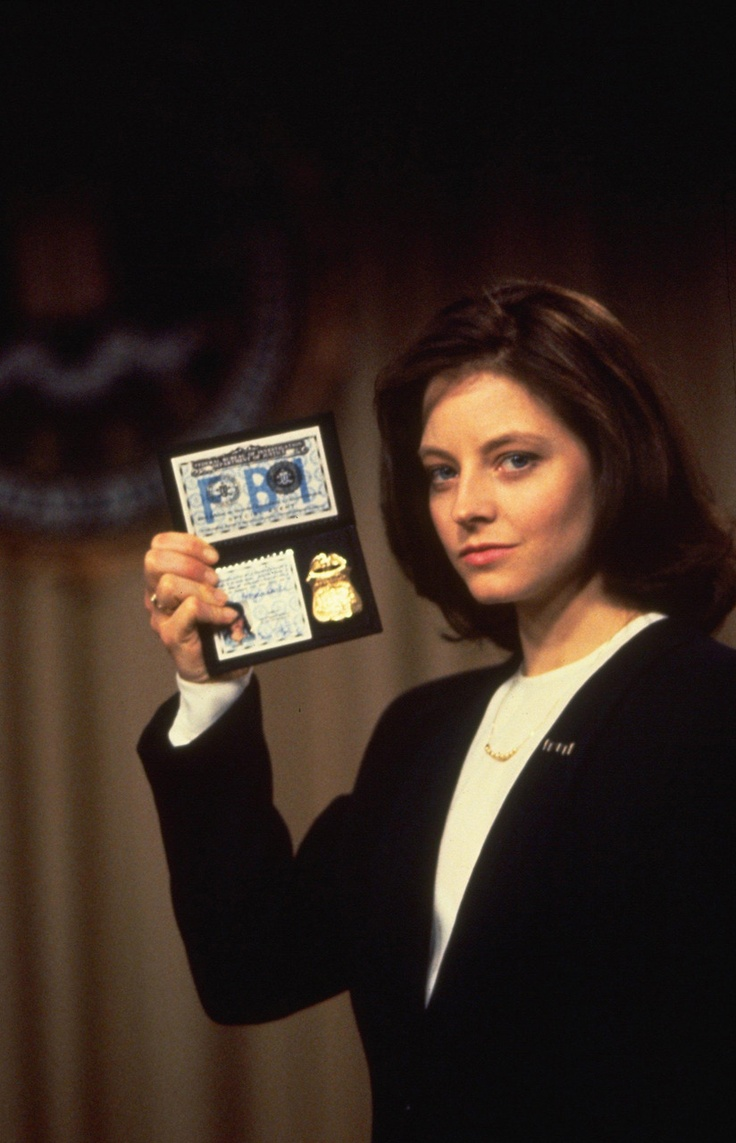 Silence of the Lambs-12 year old me lusted after Clarice Starling and Jodie Foster.