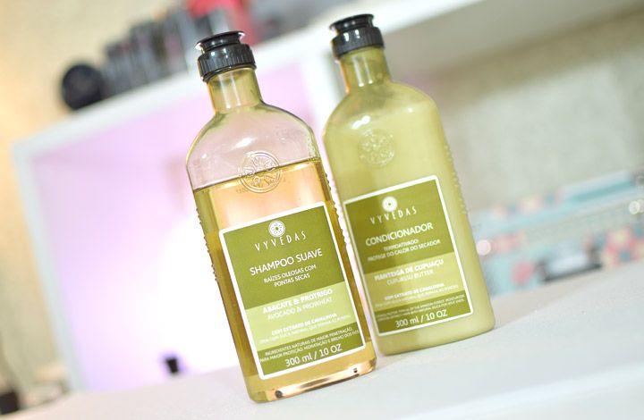Shampoo Suave Abacate e Protrigo e Condicionador Cupuaçu da Vyvedas