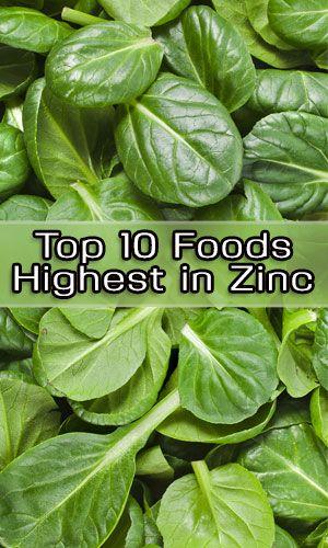 Top 10 Foods Highest in Zinc http://lifelivity.com/foods-highest-in-zinc/