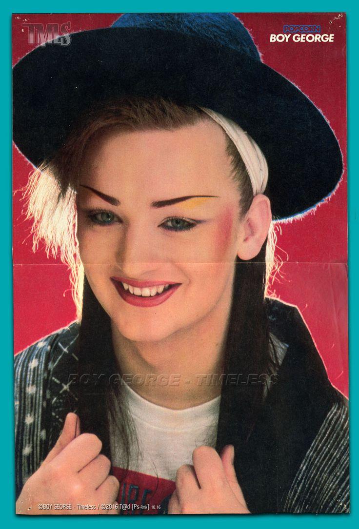 BOY GEORGE - 1982 - Poster POPCORN - Photo: ? / Montage: ©Octobre 2016 T@d [Ps-Rmk] - MOW.factory Docs ------------------------------------------------------------------------- #BoyGeorge #Tad #MOWfactory #BOYGEORGETimeless #CultureClub #TMLS #MOW #Timeless #ODowd #GeorgeAlanODowd #POPCORN