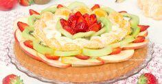 La crostata morbida alla frutta con crema al limone è un dolce davvero eccezionale, soffice, cremoso, profumato e ricco di tanta buona frutta!