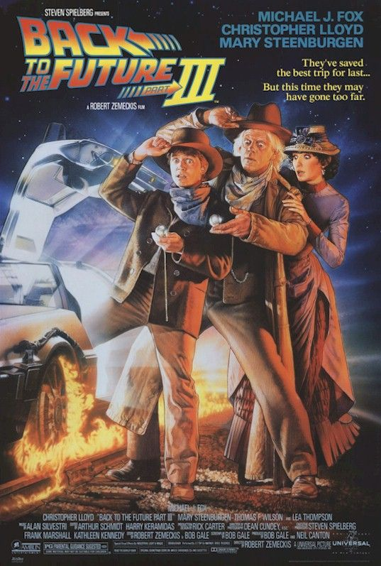 back to the future movie posters | BACK TO THE FUTURE MOVIE POSTER SET OF 3 ~ 27x40 LOT Michael Fox Drew ...