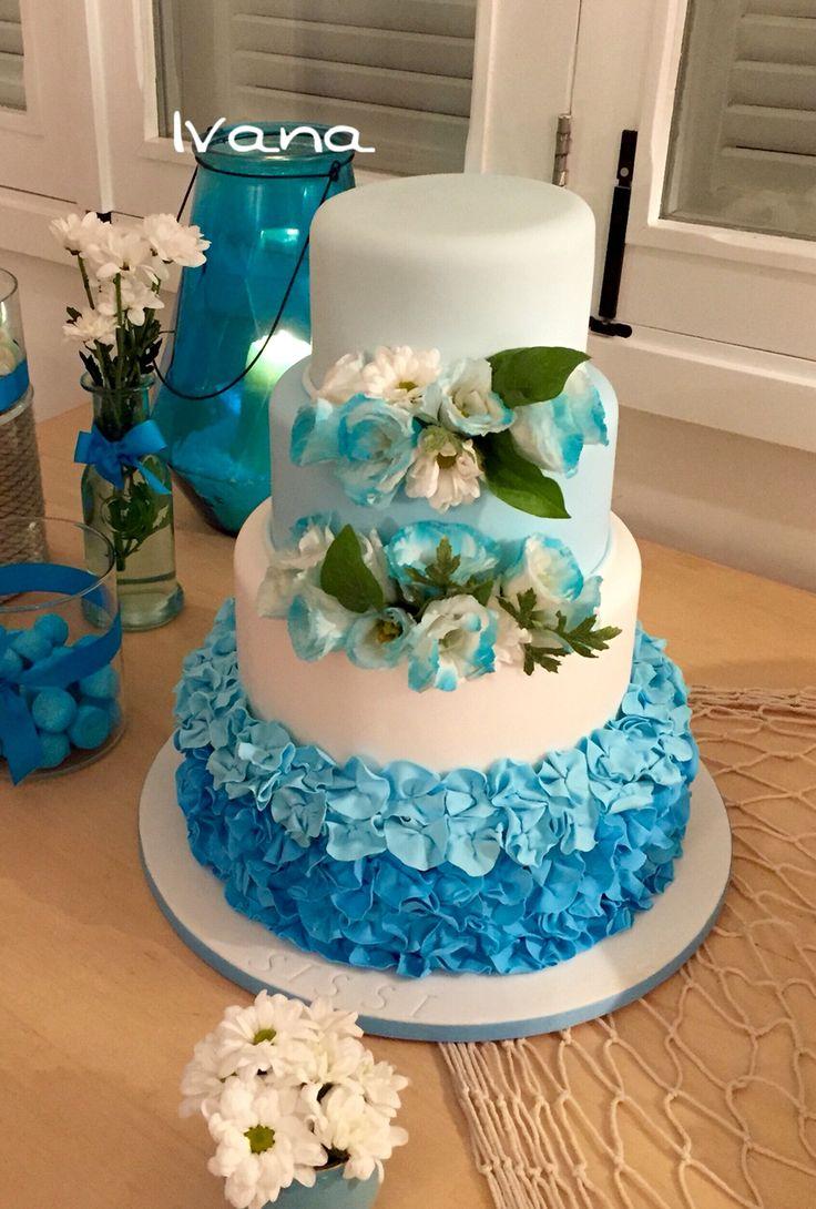 18th bday girl fondant cake